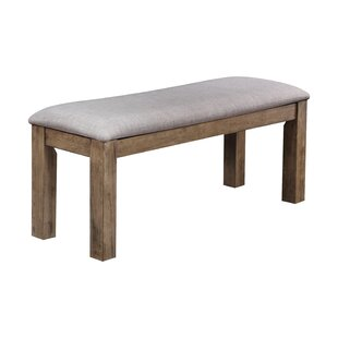 Union Rustic Huang Wood Bench