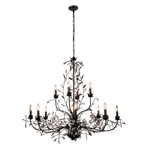 Ramsey 12-Light Candle-Style Chandelier
