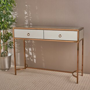 Mercer41 Hayashi Mirrored Console Table
