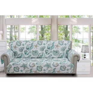 Shop Cassette Sofa Slipcover by Highland Dunes
