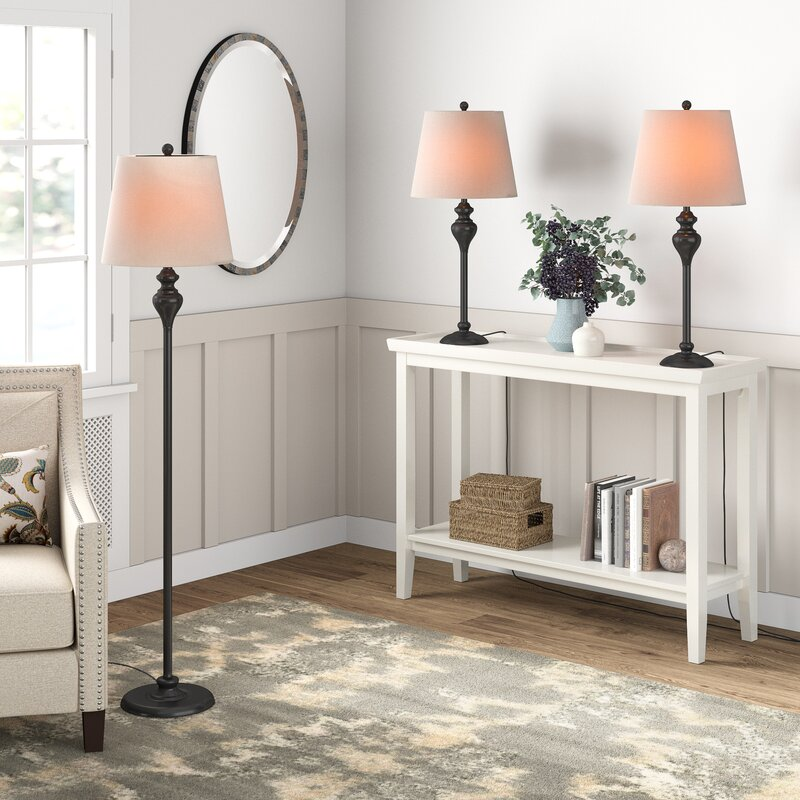 ORE International 2015/Table Lamp Antique Brass 31-Inch