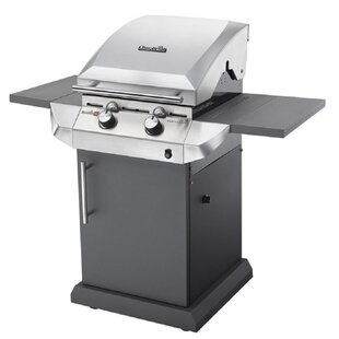 Char-Broil Performance Series  T22G - 2 Burner Gas Barbecue Grill With TRU-Infrared  Technology, Stainless Steel Finish By Char-Broil
