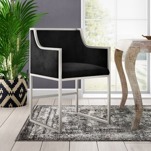 Avalon Velvet Upholstered Dining Chair Mistana