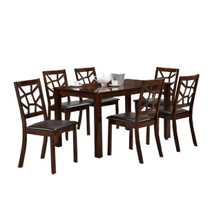 Mischa 7 Piece Dining Set by World Menagerie