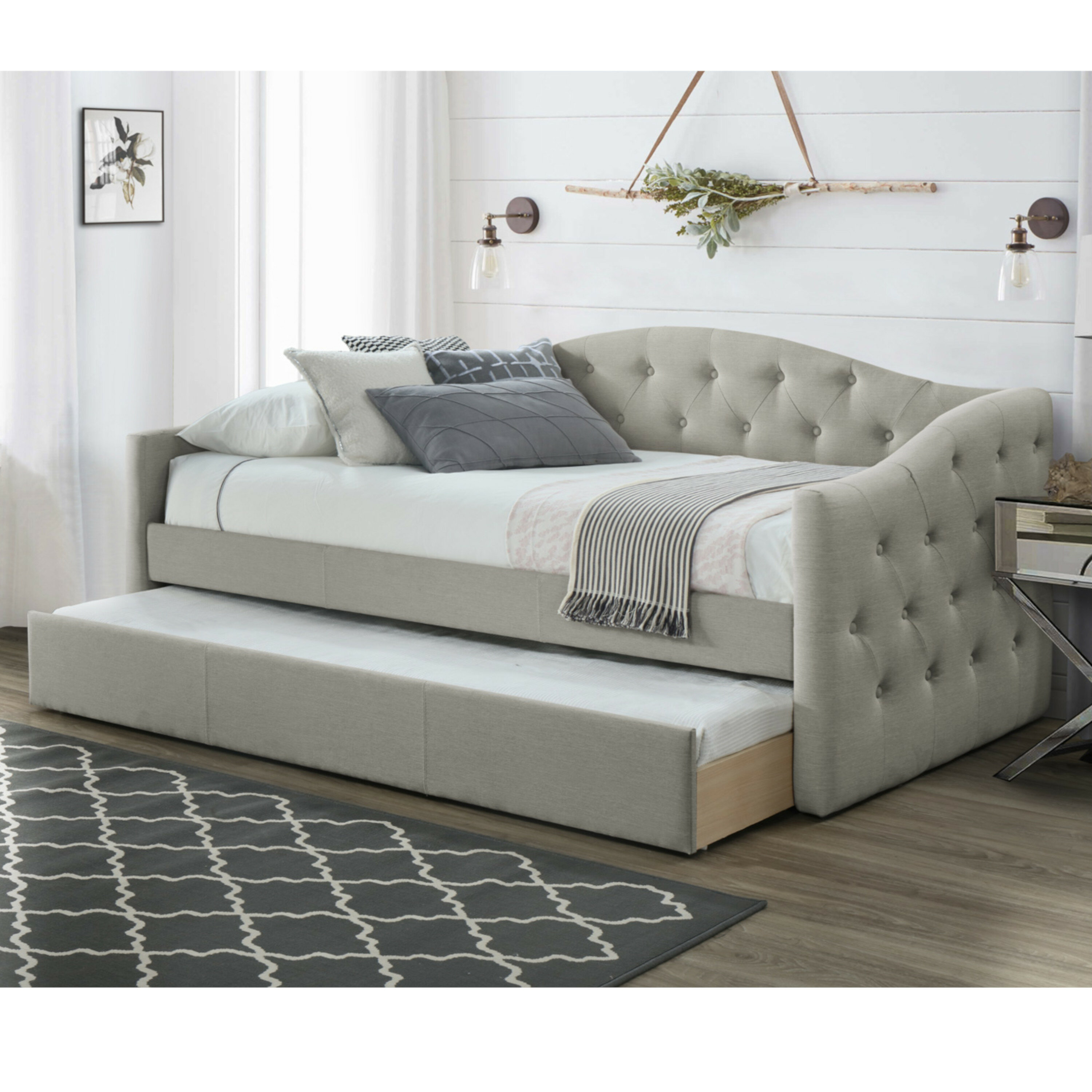 - Canora Grey Birdwell Atlanta Twin Daybed With Trundle & Reviews