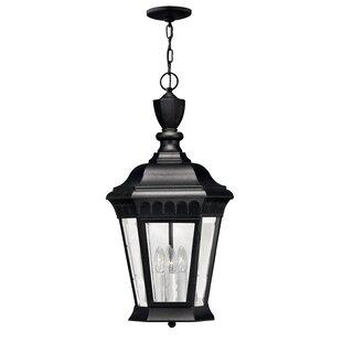 Hinkley Lighting Regal 3-Light Outdoor Hanging Lantern