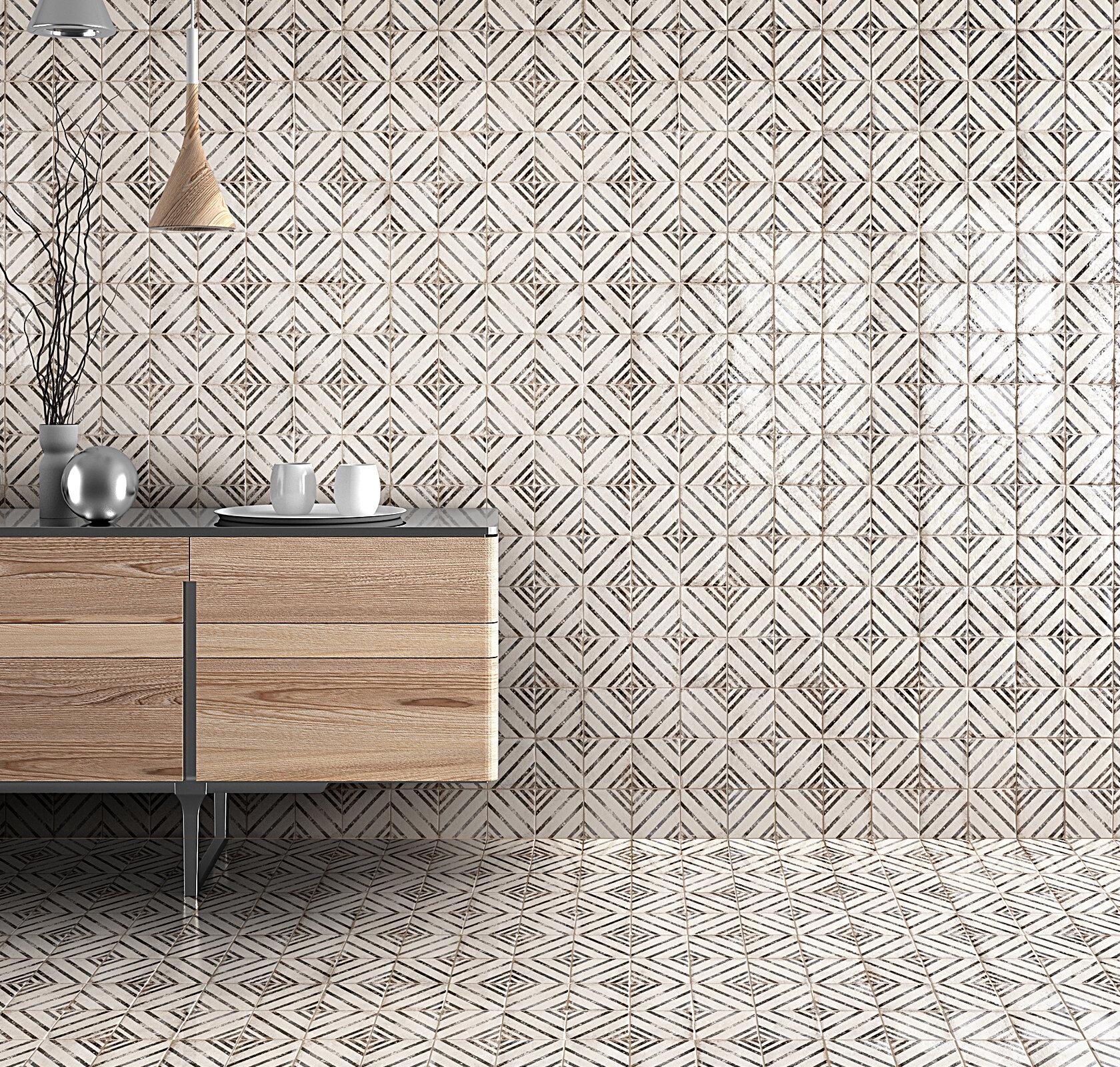 Vivace 4 X Porcelain Field Tile