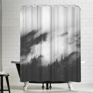 Luke Gram Rolling Fog Ii Single Shower Curtain