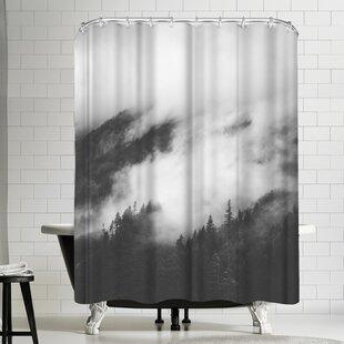 Luke Gram Rolling Fog Ii Single Shower Curtain