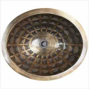 Linkasink Pantheon Metal Oval Dual Mount Bathroom Sink
