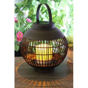 Spradley Solar Powered LED Outdoor Lantern By Sol 72 Outdoor