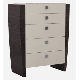 Orren Ellis Hailee 5 Drawer Standard Chest