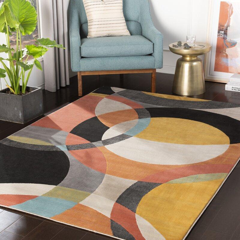 Wrought Studio Huerta Power Loom Light Gray Taupe Rug Reviews Wayfair