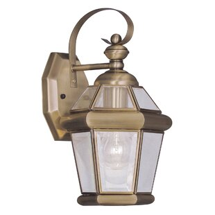 Compare Violetta 1-Light Outdoor Wall Lantern By Darby Home Co