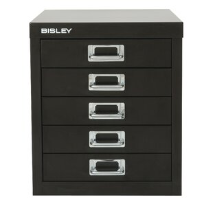 Bisley 5 Drawer Vertical File