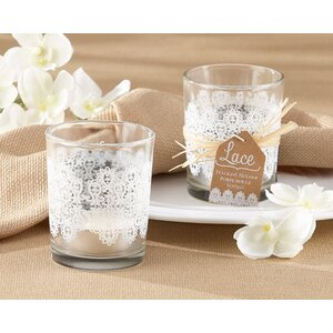 Lace Glass Holder (Set of 24)