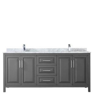 Price Check Daria 80 Double Bathroom Vanity Set By Wyndham Collection