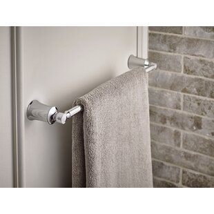 Affordable Dartmoor 18 Wall Mount Towel Bar By Moen