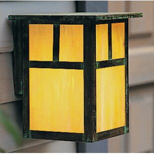 Arroyo Craftsman Mission 2-Light Outdoor Wall Lantern