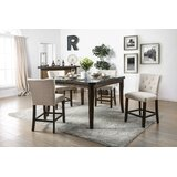 Sabbagh 5 Piece Counter Height Dining Set by Canora Grey