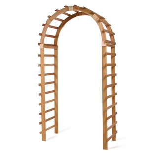 All Things Cedar Trellis Wood Arbor