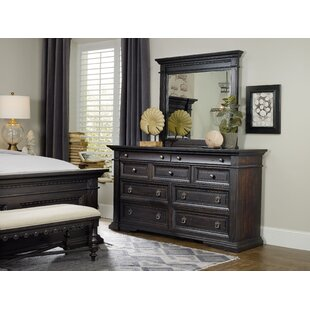 Hooker Furniture Treviso 9 Drawer Dresser with Mirror