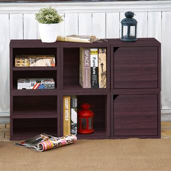 Way Basics Connect Cubbies Standard Bookcase Reviews Wayfair