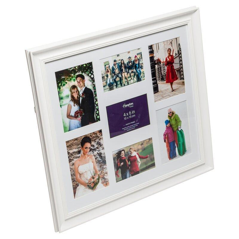 Wunderbar White Collage Rahmen 4x6 Galerie - Benutzerdefinierte ...