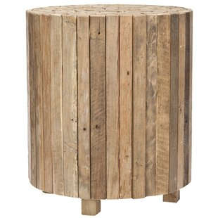 Affordable Price Linneus End Table by Loon Peak
