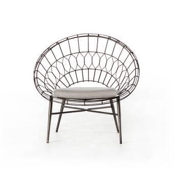 Patio Furniture Northville Mi.Four Hands Wanaque Rattan Patio Chair Perigold
