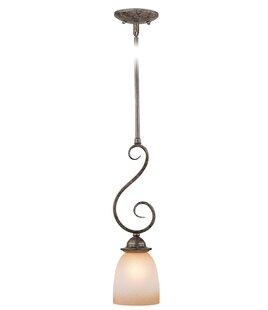 Fleur De Lis Living Brosnan 1-Light Cone ..