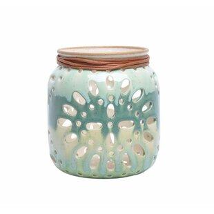 Baroque Ceramic Lantern by Bungalow Rose