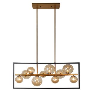 Coder 10-Light LED Pendant by Brayden Studio