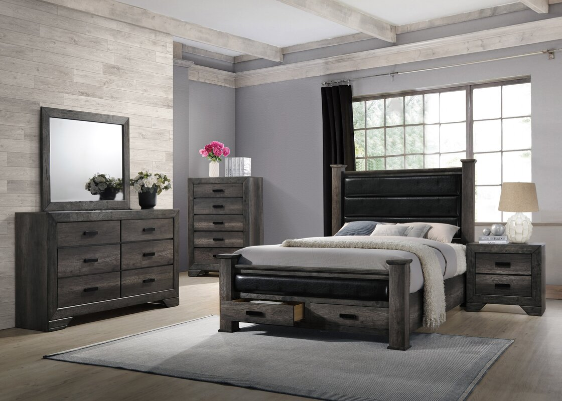 Loon Peak Calliope Storage Panel Configurable Bedroom Set ...