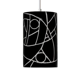 Mosaic 1-Light Cylinder Pendant by A19