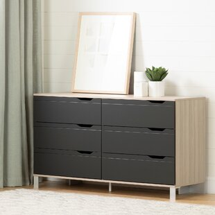 South Shore Kanagane 6 Drawer Double Dresser