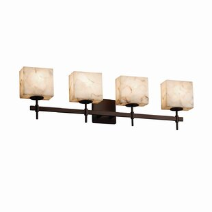 Top Reviews Conovan 4-Light Vanity Light By Rosecliff Heights