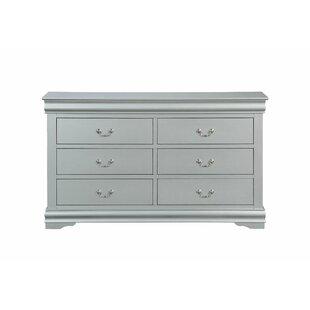 Sophia 6 Drawer Double Dresser by Grovelane Teen New Design