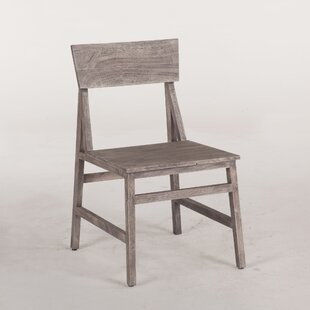 Allison Solid Wood Dining Chair (Set of 2) Union Rustic