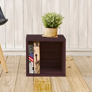 Andrade Cube Bookcase by Wrought Studio