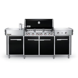 Summit? Grill Center 6-Burner Propane Gas Grill with Smoker by Weber