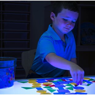 Hwang Brilliant Light Activity Table by Zoomie Kids