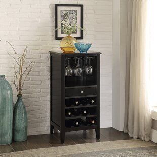 Cabernet 12 Bottle Floor Wine Cabinet by Homestyle Collection