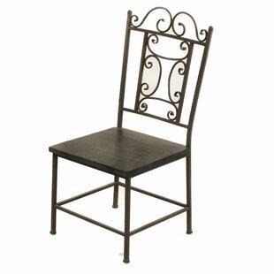 Burke Wooden Side Chair by Fleur De Lis Living