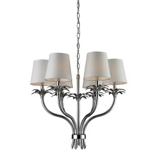Alcott Hill Hawkesbury 6-Light Shaded Chandelier