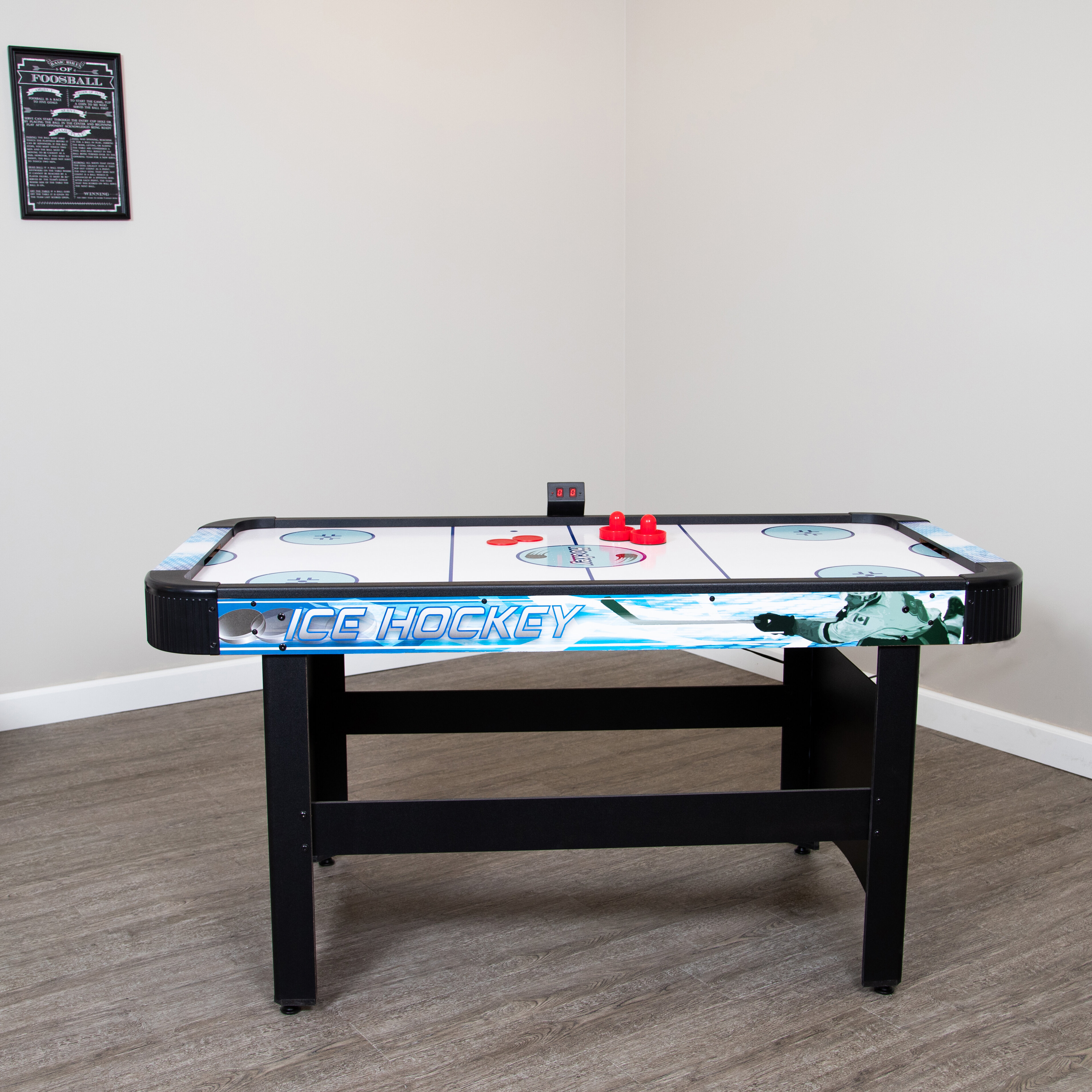 991584b1b8d Hathaway Games Face Off 5  Air Hockey Table with Electronic Scoring    Reviews