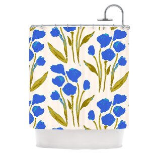 Shirley Gem by Gukuuki Single Shower Curtain By East Urban Home