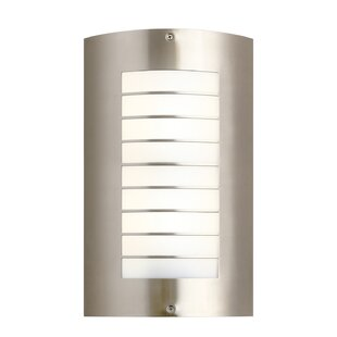 Price Check Warner 2-Light Outdoor Flush Mount By Longshore Tides