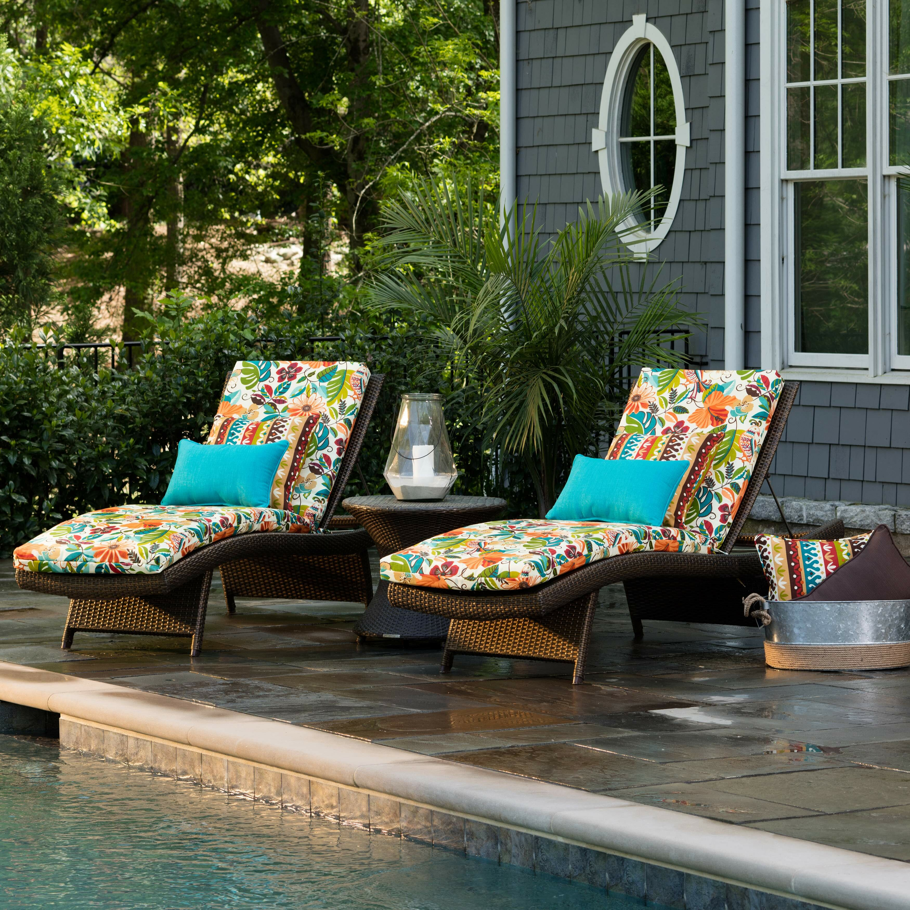 guadaloue indoor outdoor chaise lounge cushion