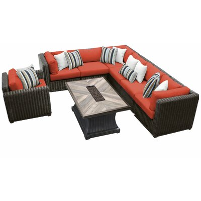 Prime Sol 72 Outdoor Fairfield 8 Piece Sectional Seating Group Customarchery Wood Chair Design Ideas Customarcherynet